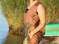 Claudia Haase - Kleid Fanny Hawaii braun (5)