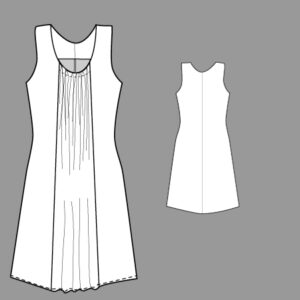 Kleid ANNA / Papierschnitt