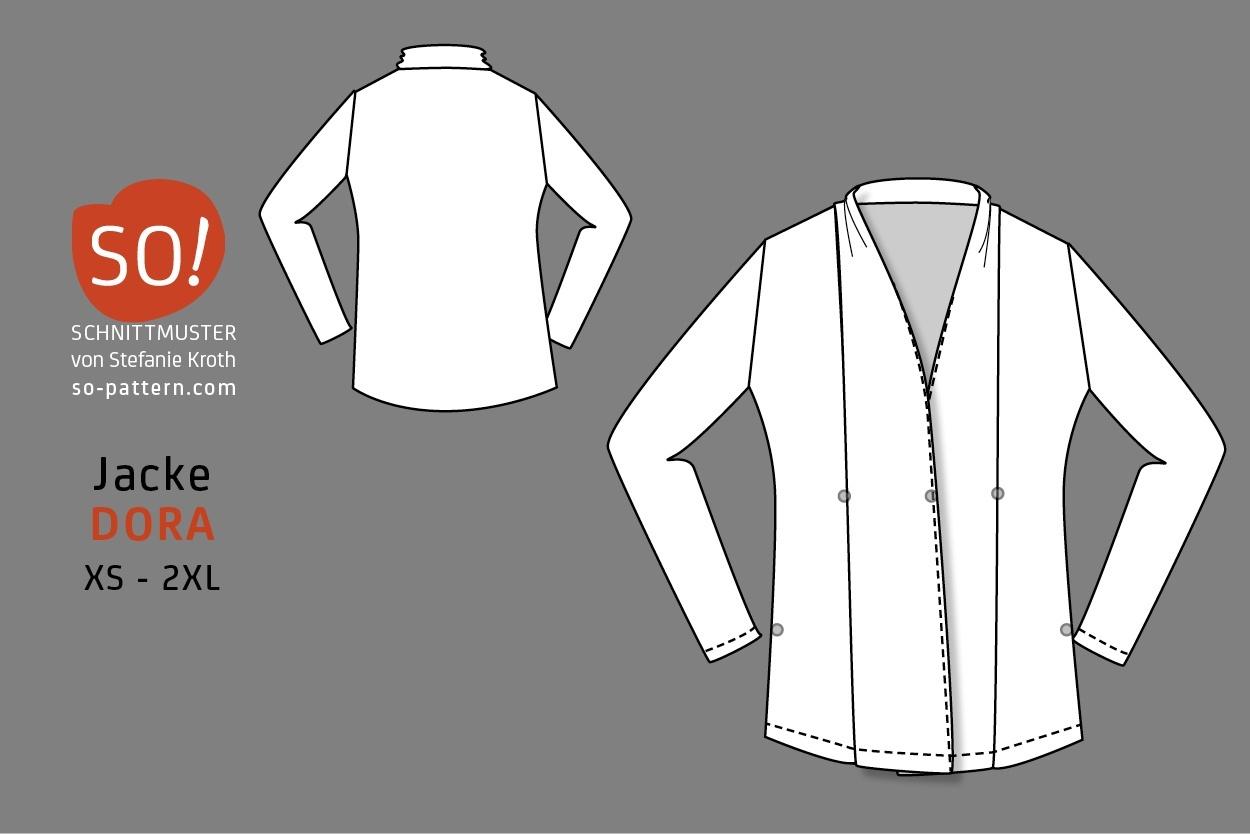 Jacke DORA - SO Pattern