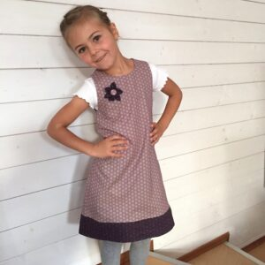 Kleid ADA mini / Papierschnitt