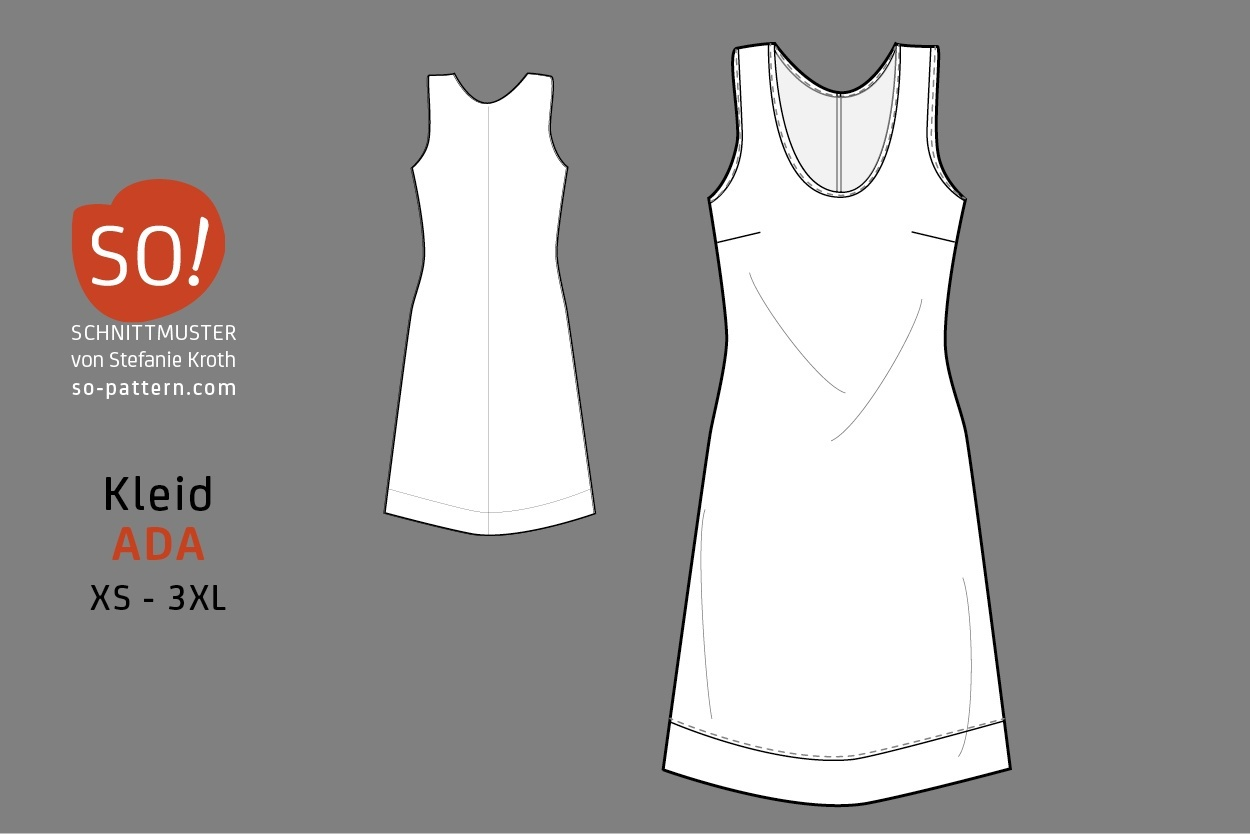 Kleid ADA / PDF - SO Pattern