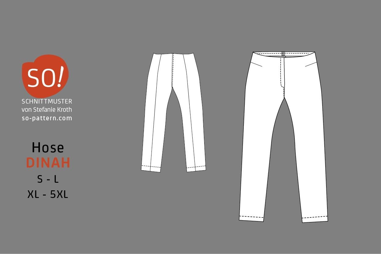 Hose DINAH / PDF - SO Pattern