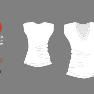 Shirt MONO LISA / Papierschnitt