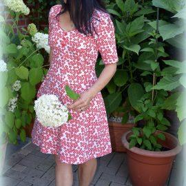 Test sewing: 17 x dress KARLOTTA