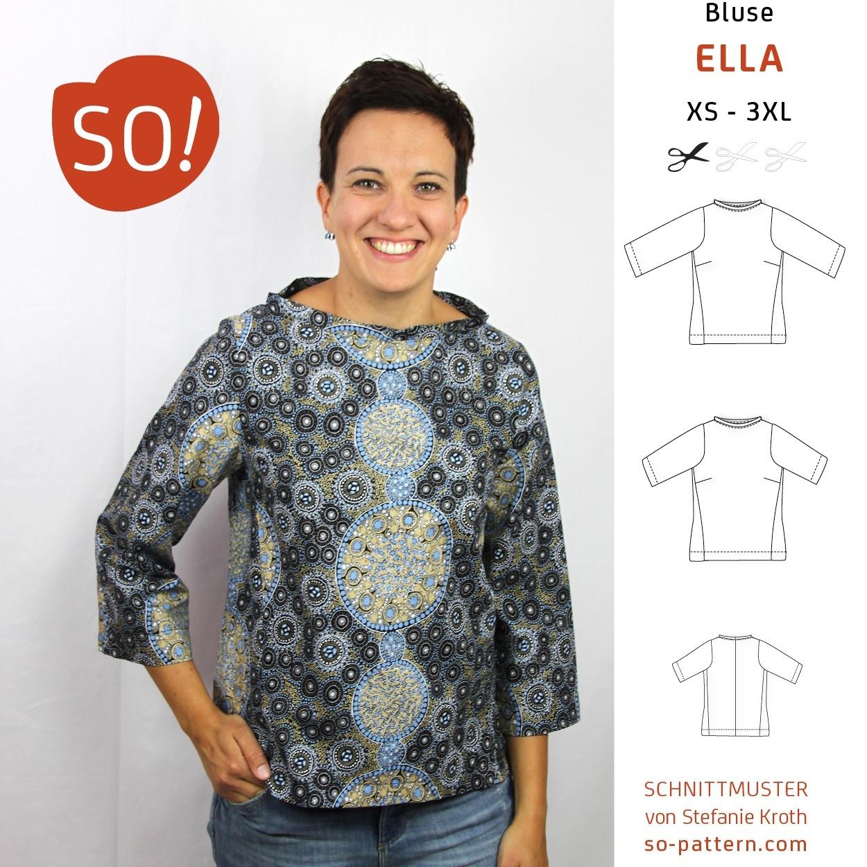Blogtour: ELLA auf Weltreise - SO Pattern