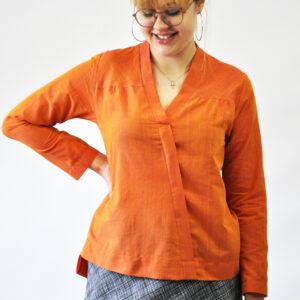Bluse CARLA / Papierschnitt