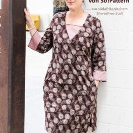Kleid FANNY: Ergebnisse vom Designnähen