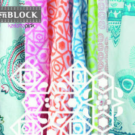 Stoffdesign: INDIEN BLOCK
