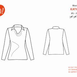 Bluse KATHA: Designnähen – Beispiele