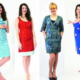 5 einfache Schnittmuster für Kleider