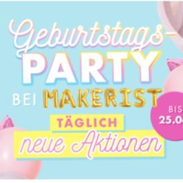Makerist und SO feiern Geburtstag