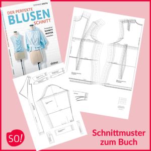 """Grundschnitt Bluse zum Schnittbuch """"Der perfekte Blusenschnitt"""""""