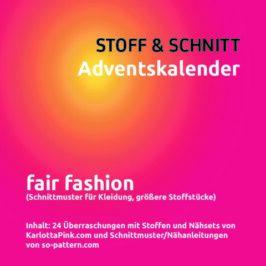 Adventskalender STOFF & SCHNITT
