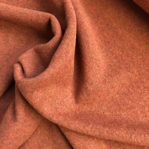 Merino-Woll-Strick orange-meliert