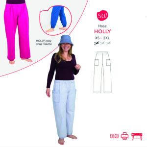 Hose HOLLY – Papierschnitt
