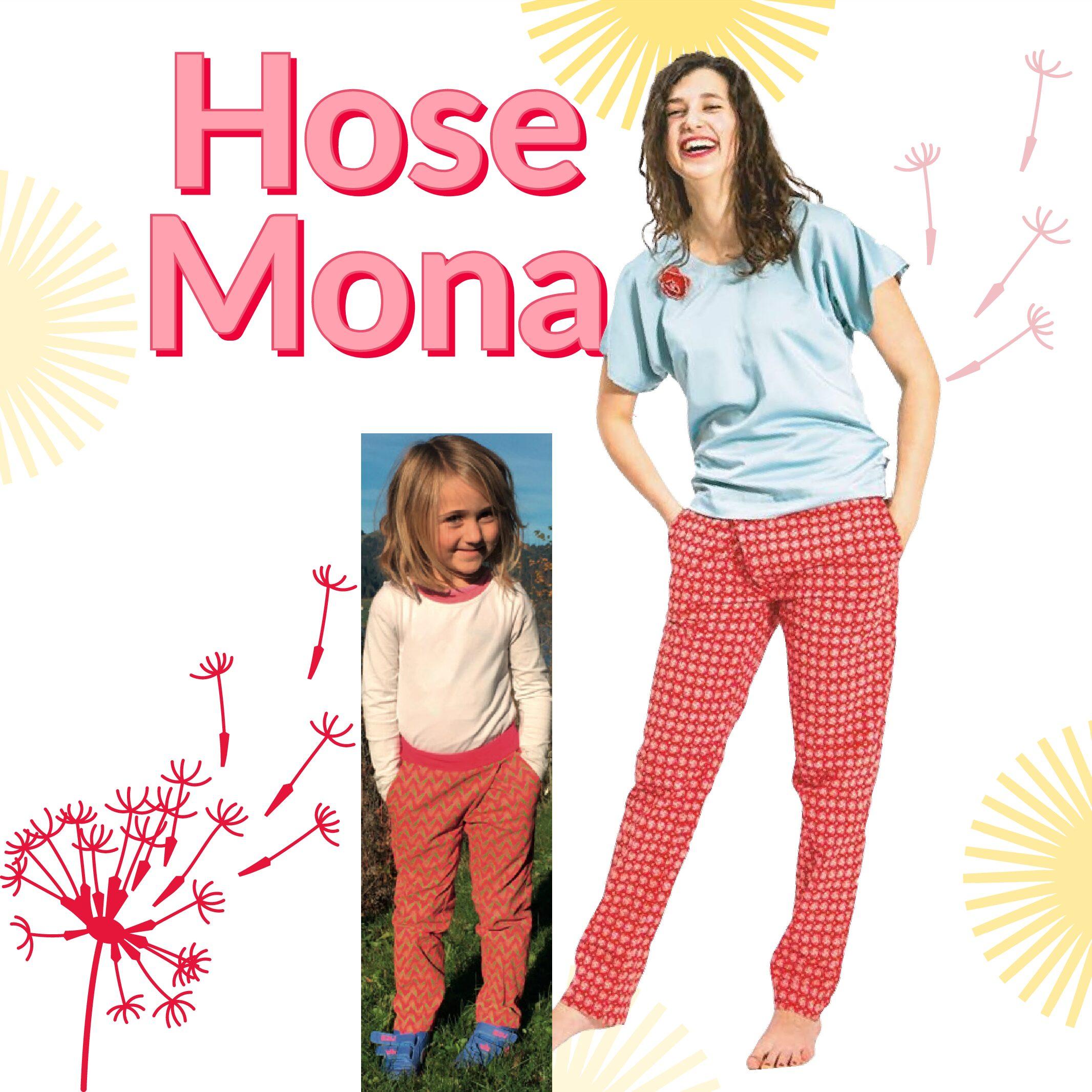 Kombination: Hose Mona & Hose Mona mini / Papierschnitt
