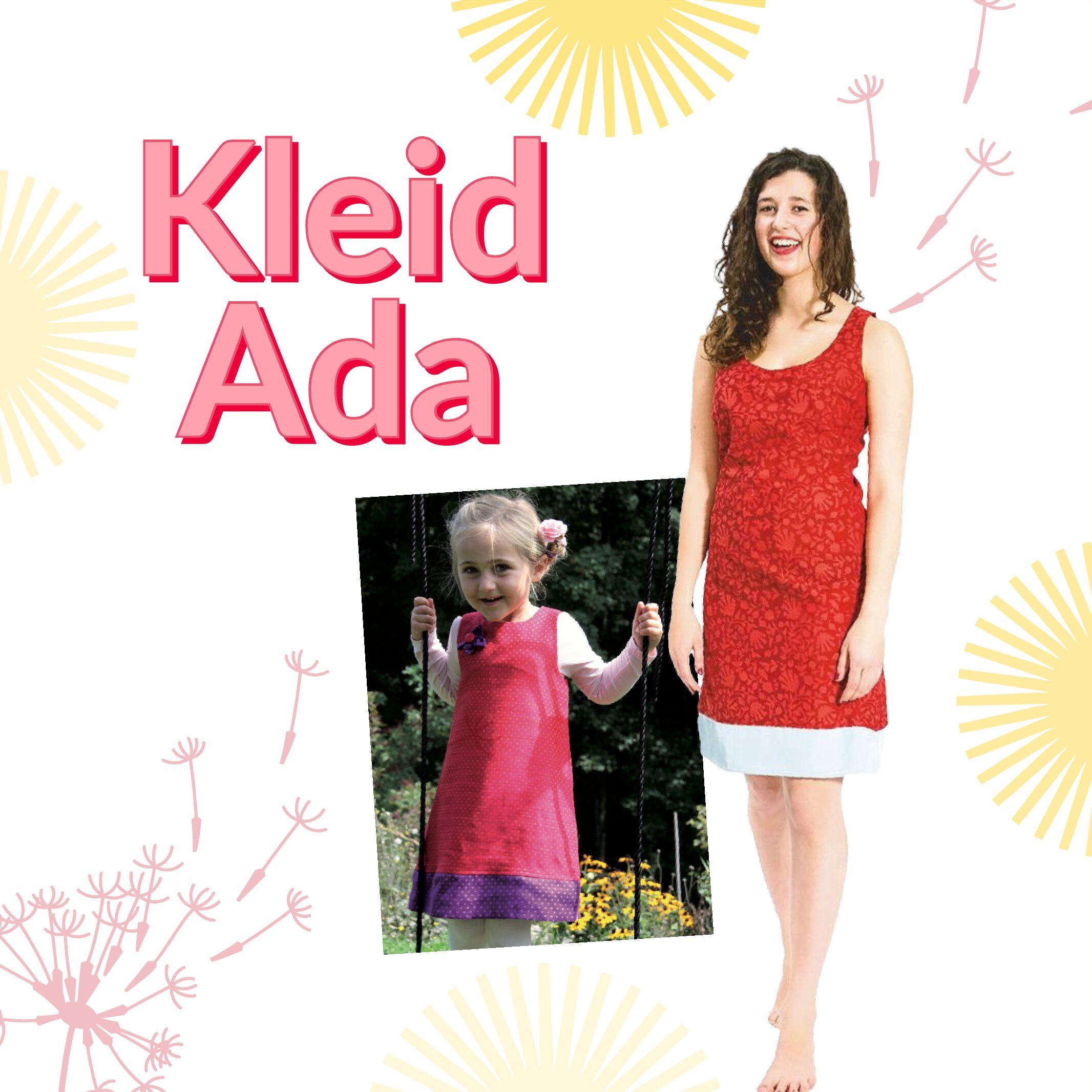 Kombination: Kleid Ada & Ada mini / Papierschnitt