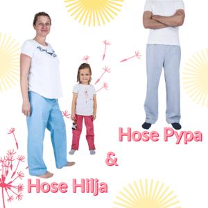 Kombination: Hose Pypa & Hose Hilja + mini / Papierschnitt