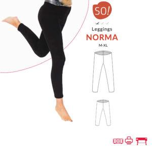 Leggings Norma (M-XL) – PDF
